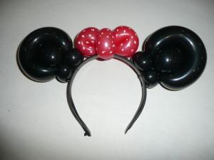 Ballontraktatie : Diadeem Minnie Mouse