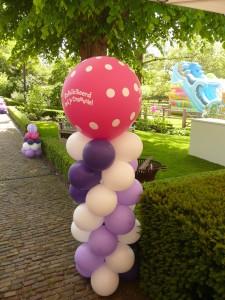 Ballondecoratie laat je maken bij ballonnenhondje